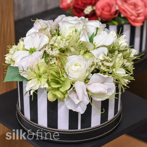 Blumenbox weiss   silk&fine