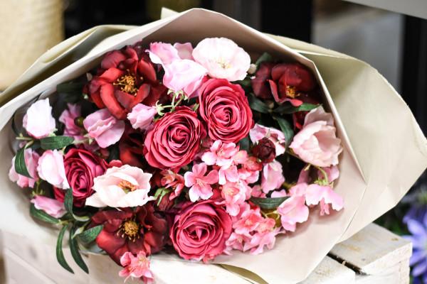 HUNDERFRANKENSTRAUSS pink, rosa| silk&fine