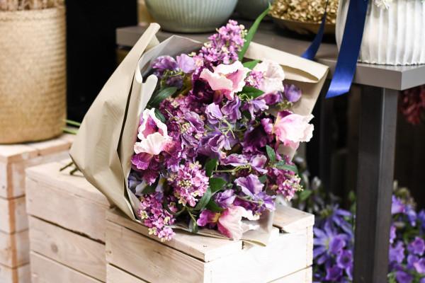 HUNDERFRANKENSTRAUSS lila | silk&fine