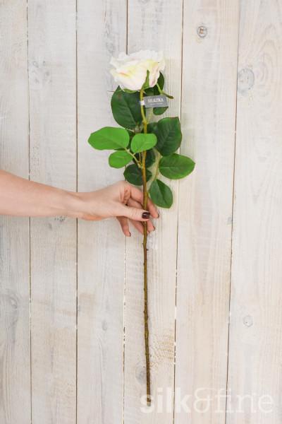 Künstliche | Rose rosa | L: 68cm