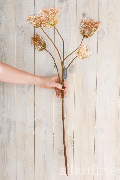 Kunstblume | Dill gold | L: 84cm