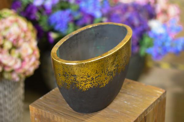 Keramik cachepot gross