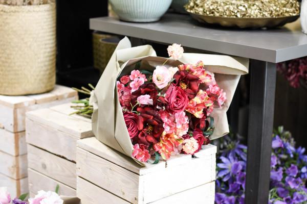 HUNDERFRANKENSTRAUSS pink, gelb, rosa| silk&fine