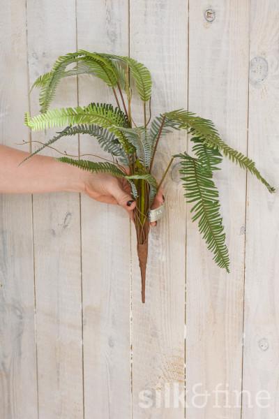 Kunstzweig | Farn grün | L: 44cm